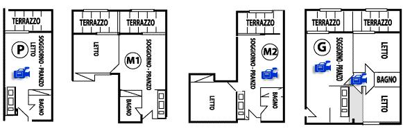 planimetria residence marina di bibbona
